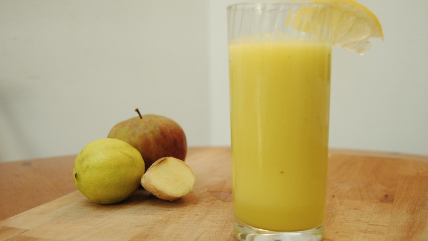 Ginger Lemon Smoothie