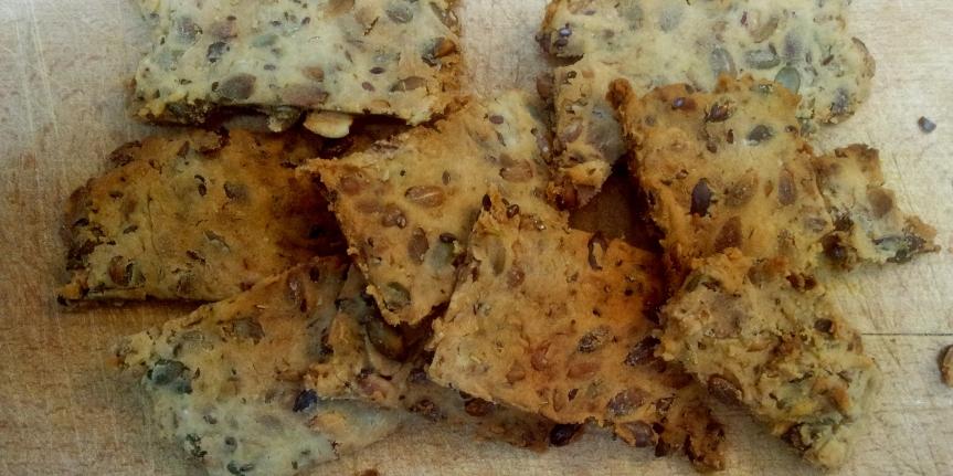 Snelle glutenvrije rijstcrackers metrozemarijn