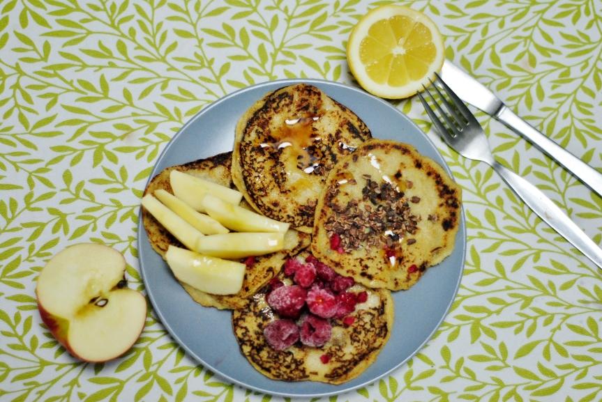 Zachte Quinoa Pancakes (vegan englutenvrij)