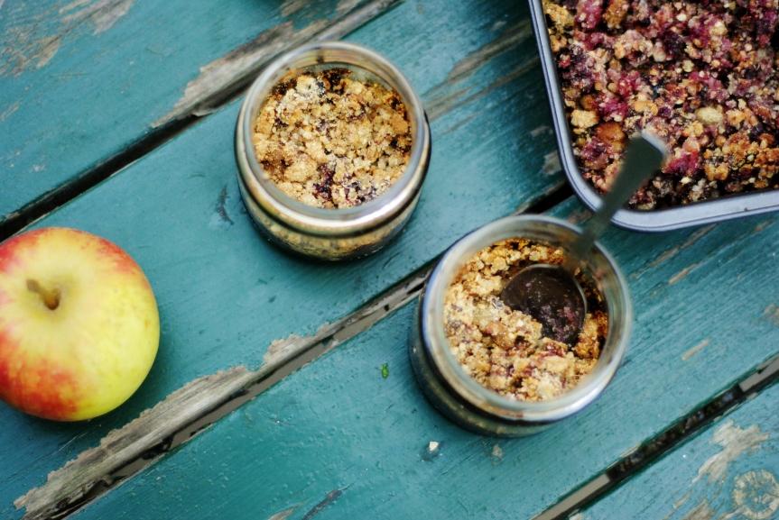 Ontbijt Crumble Bowls (Vegan, Glutenvrij & GeraffineerdeSuikervrij)
