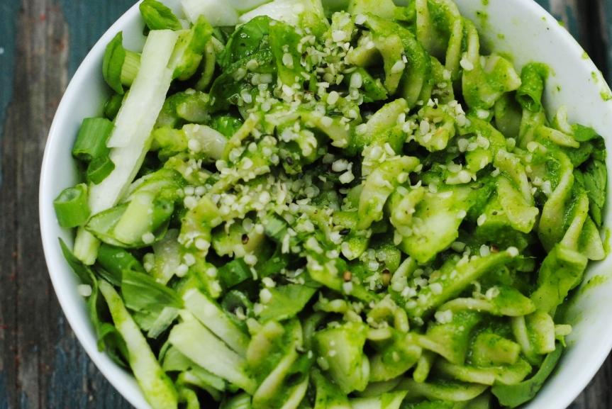 Groene Lente Pasta met Romige Spinaziesaus (Vegan &Glutenvrij)