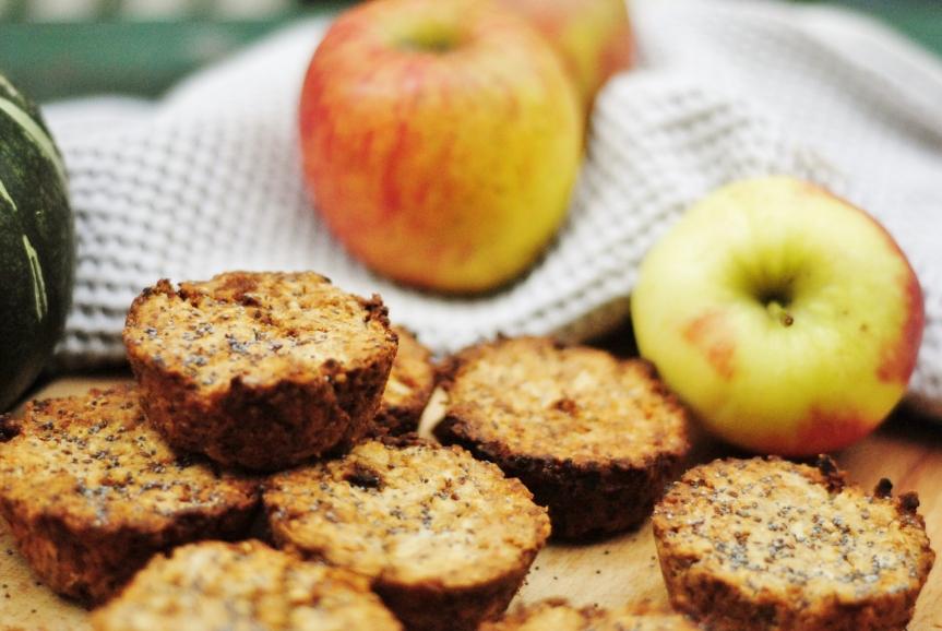 Warme Appel & Kaneelmuffins (Vegan &Glutenvrij)